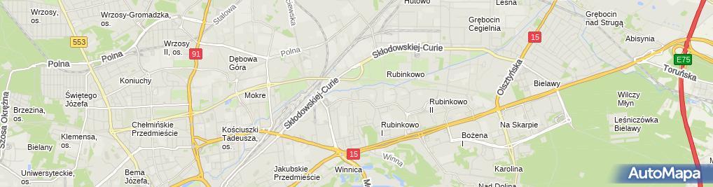 Zdjęcie satelitarne Ruciński Andrzej Raster Usługi Marketingowe, Firma