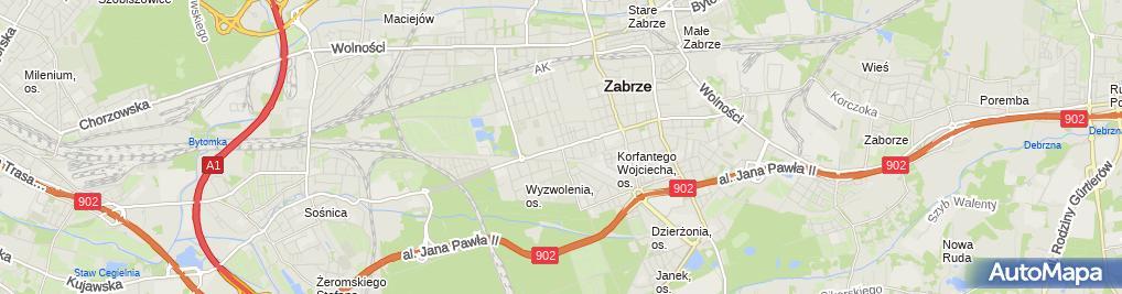 Zdjęcie satelitarne Rudawski Stefan Bis Imperator Jan Janczyszyn Stefan Rudawski
