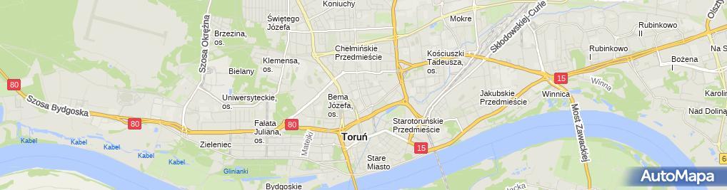 Zdjęcie satelitarne Rustico