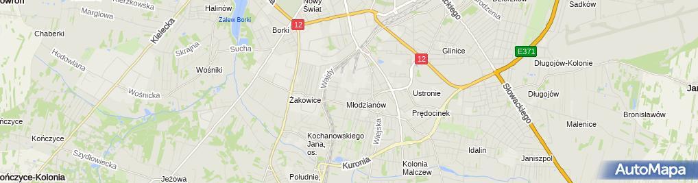 Zdjęcie satelitarne Rutka