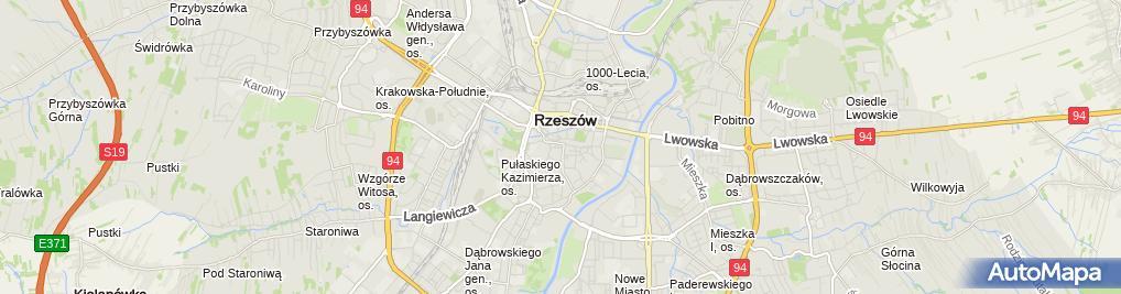 Zdjęcie satelitarne Ryspol Ryszard Cieślachowski