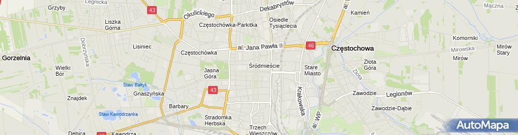 Zdjęcie satelitarne Rzymsko-Katolicka Parafia św.Jakuba