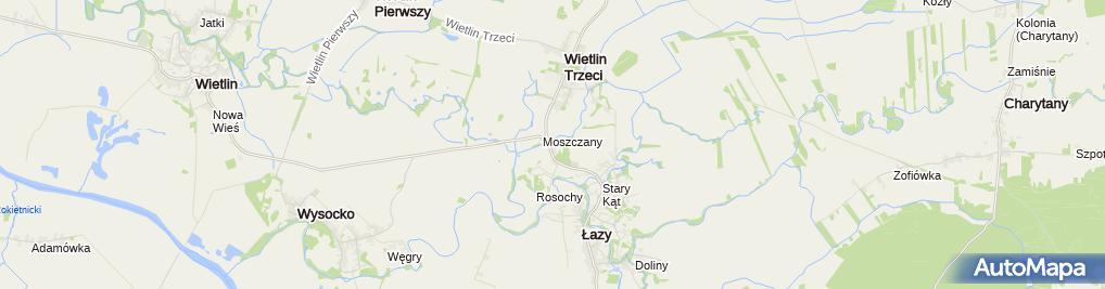 Zdjęcie satelitarne S&W Verpackung Polska Sp. z o.o.
