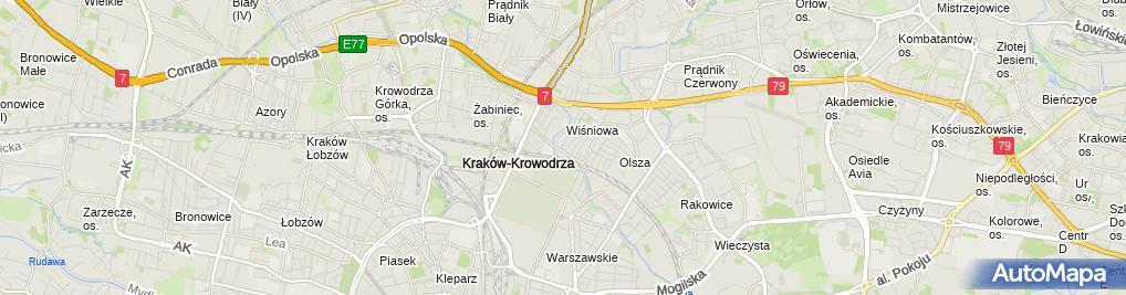 Zdjęcie satelitarne Salon Fryzjerski Stanisława Jurkowska