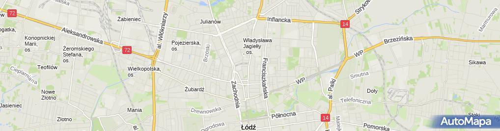 Zdjęcie satelitarne Salon Kosmetyczny Agnieszka Zdrzalik