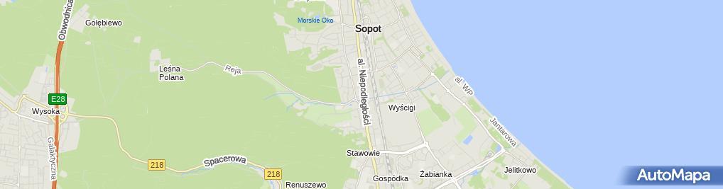 Zdjęcie satelitarne Salon Modnej Fryzury Mago Magdalena Urbańska