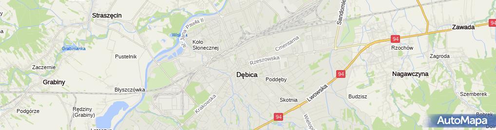 Zdjęcie satelitarne Salon Mody E&D Damian Ferenc