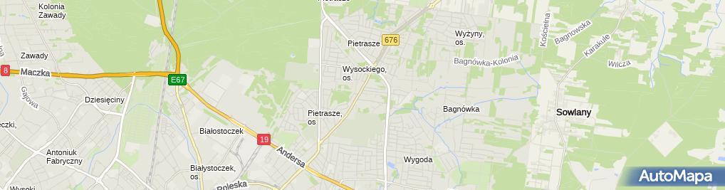 Zdjęcie satelitarne Sander Ag Kondrusik i Wspólnicy Grzegorz Kondrusik Wspólnik Spółki Cywilnej
