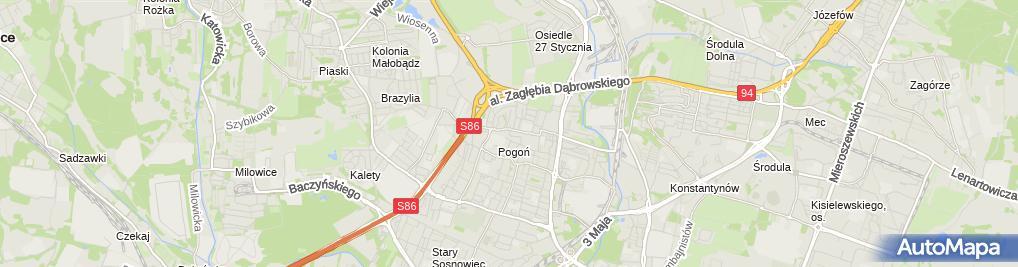Zdjęcie satelitarne Sanstal Dagmara Piotrowska Mrzyczek