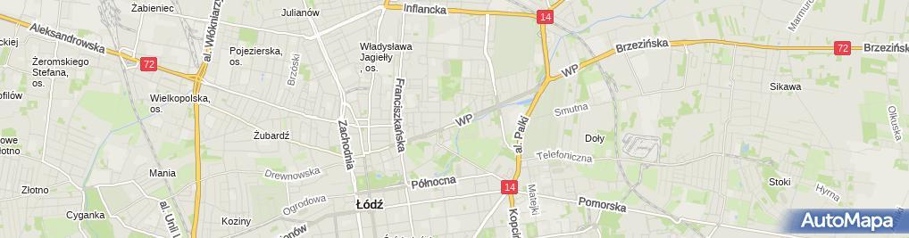 Zdjęcie satelitarne Scanic Szczepan Zdrojewski