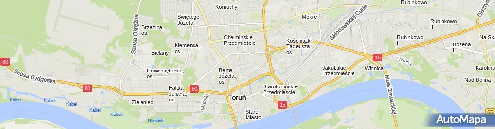 Zdjęcie satelitarne Schmelter Katarzyna