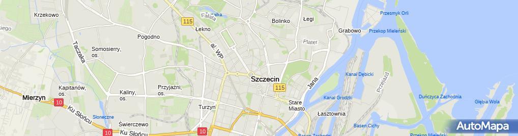 Zdjęcie satelitarne Scuba-Mission Rafał Kowalewski
