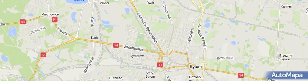 Zdjęcie satelitarne Sebastian Burczyk - Działalność Gospodarcza