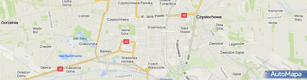 Zdjęcie satelitarne Sega Polska