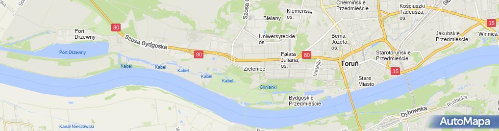 Zdjęcie satelitarne Serwis Taksometrów i Kas FiskalnychJanusz Kowalski