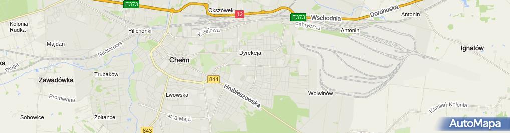 Zdjęcie satelitarne Sezonka Barbara Zieńkowska