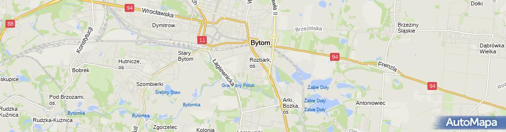 Zdjęcie satelitarne Silesia Vet