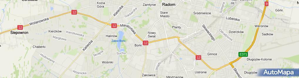 Zdjęcie satelitarne Silstar Przedsiębiorstwo Handlowo Usługowe
