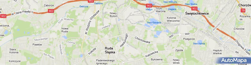 Zdjęcie satelitarne Sitko Jacek Zakład Złotniczo-Jubilerski