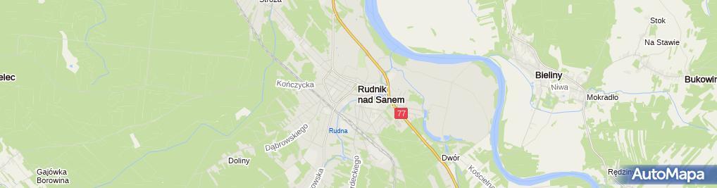 Zdjęcie satelitarne Sklep Detaliczny