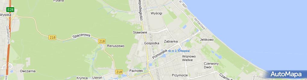 Zdjęcie satelitarne Sklep Odzieżowy