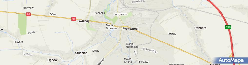 Zdjęcie satelitarne Sklep Ogrodniczy Plantator Bartłomiej Chudy