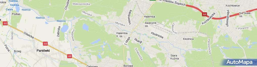 Zdjęcie satelitarne Sklep Wielobranżowy Bronisław Wyciślik