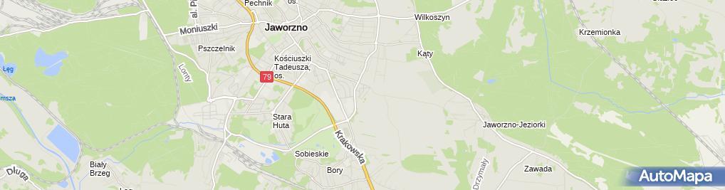 Zdjęcie satelitarne Sklep Wielobranżowy