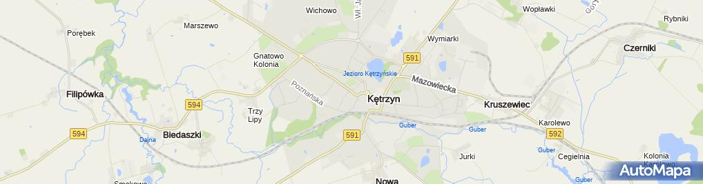 Zdjęcie satelitarne Sklep Zielarski Reszke Halina i Andrzej