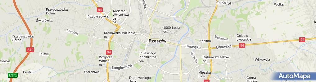 Zdjęcie satelitarne Sklep Zielarsko- Medyczny Jaga - Cora II Katarzyna Bieda