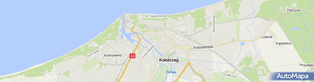 Zdjęcie satelitarne Sklep Zielarsko Medyczny Kminek Mazur Jarosław Hutnik Barbara