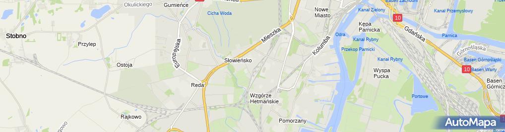 Zdjęcie satelitarne Sklep Zoologiczny Chomik Paulina Fabicka