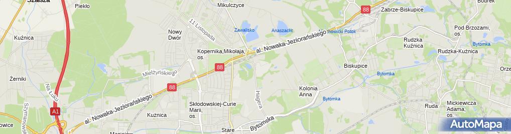 Zdjęcie satelitarne Skorpion Przedsiębiorstwo Handlowo Usługowe Zdrowok Urszula Strzysz Grzegorz