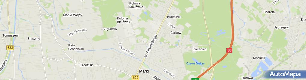 Zdjęcie satelitarne Skup i Sprzedaż Złomu Metali Kolorowych Gustowski Ryszard