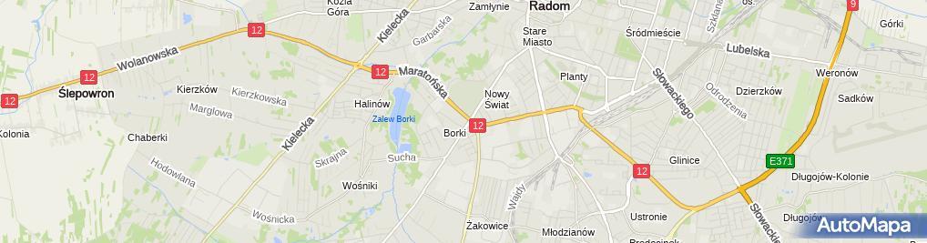 Zdjęcie satelitarne Skurkiewicz Sławomir Sass
