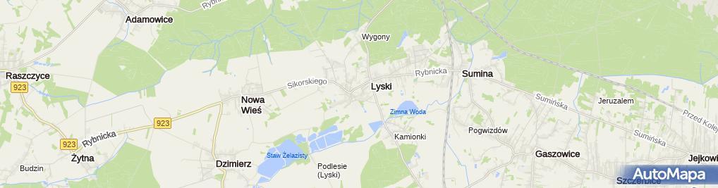 Zdjęcie satelitarne Sławomir Poremski Re Mal