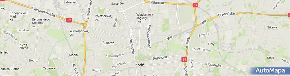 Zdjęcie satelitarne Sławomir Szymczyk - Działalność Gospodarcza