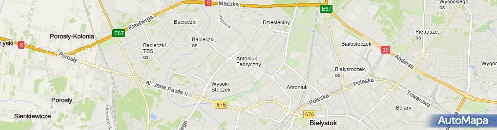 Zdjęcie satelitarne Smacznego Anna Jackowska