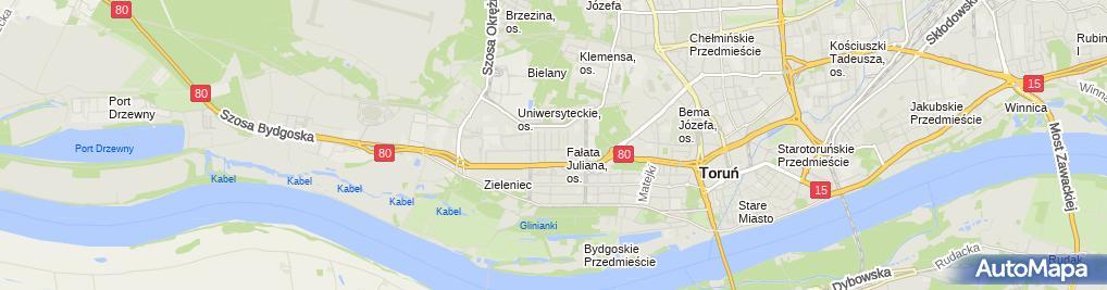 Zdjęcie satelitarne Sobczak Krzysztof KRUS Profil Firma Wielobranżowa