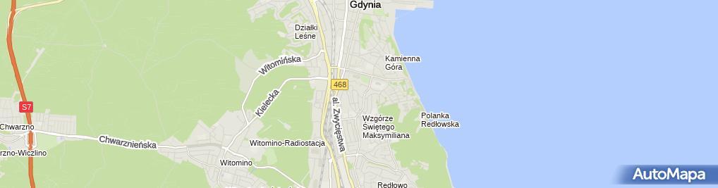 Zdjęcie satelitarne Specjalistyczna Praktyka Lekarska
