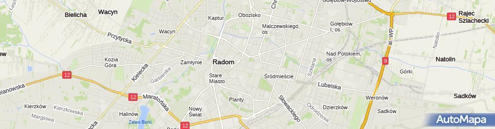 Zdjęcie satelitarne Spółdzielnia Mieszkaniowa Eko w Radomiu