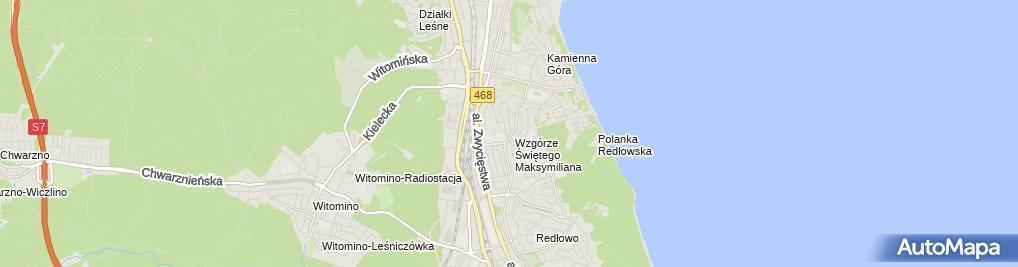 Zdjęcie satelitarne Spółdzielnia Mieszkaniowa Nasz Dom w Gdyni