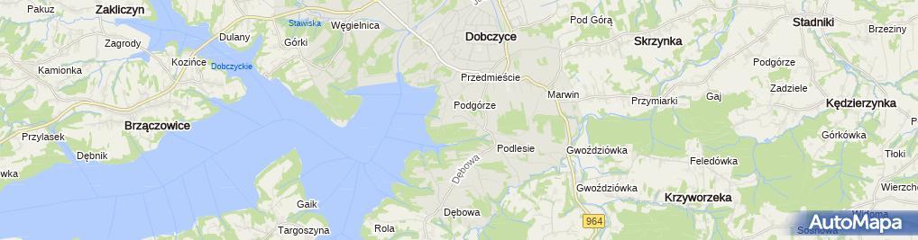 Zdjęcie satelitarne Spółdzielnia Mieszkaniowa Zgoda
