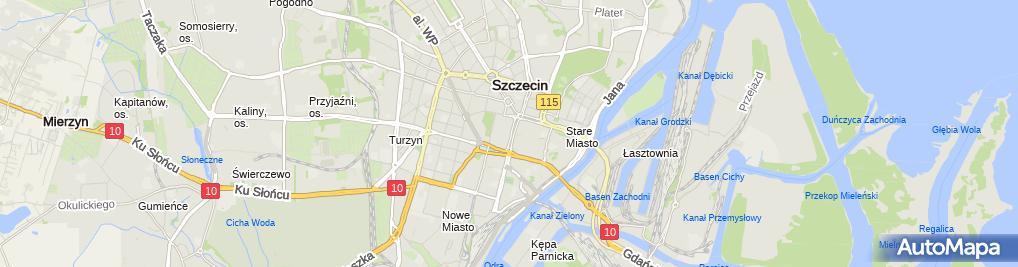 Zdjęcie satelitarne Sprzedaż Mięsa Drobiu Wędlin