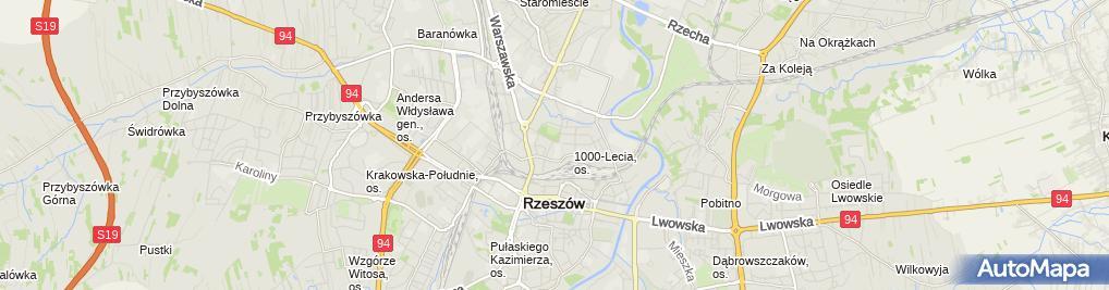 Zdjęcie satelitarne Stanio Andrzej, Puh Telsa Rzeszów Stanio Andrzej Nazwa Skrócona: Puh Telsa Rzeszów