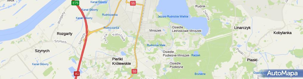 Zdjęcie satelitarne Stanisław Klimek - Działalność Gospodarcza
