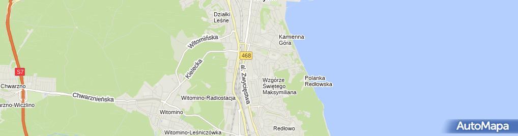 Zdjęcie satelitarne Stanisław Kowalewski - Działalność Gospodarcza