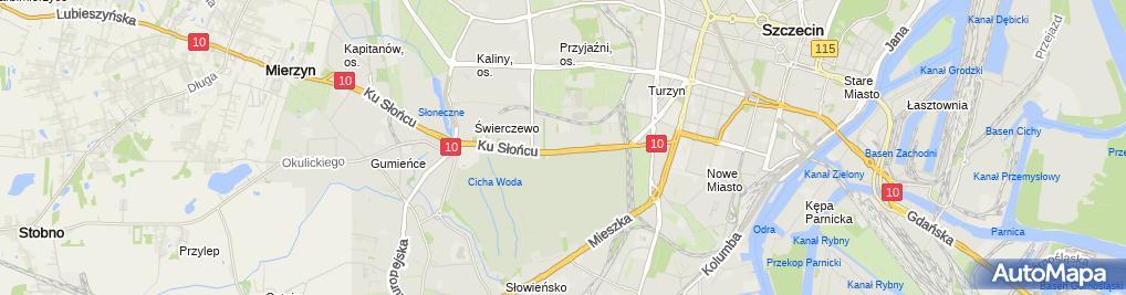 Zdjęcie satelitarne Stanisław Węgłowski