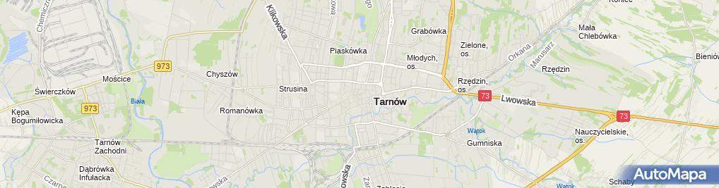Zdjęcie satelitarne Stanisława Bednarz Pasmanteria Stanisława Sławomir Anna Bednarz