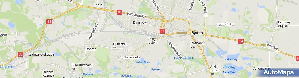 Zdjęcie satelitarne Stanisława Pluta - Działalność Gospodarcza